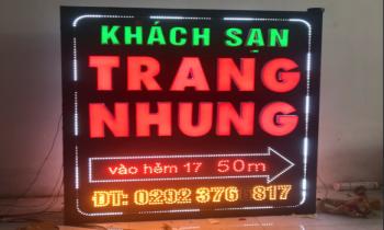 BẢNG LED MA TRẬN CHẠY CHỮ- KS TRANG NHUNG