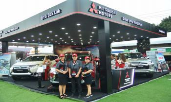 Chuỗi sự kiện trưng bày và lái thử xe Mitsubishi