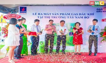Ra mắt sản phẩm Gas Dầu khí